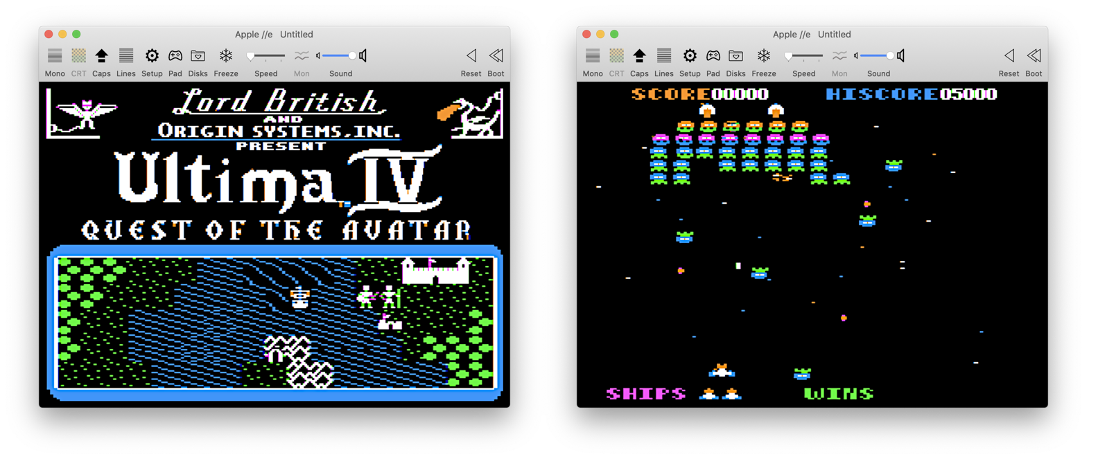 Virtual ][, the best Apple II emulator for macOS